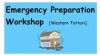 Emergency Preparation Workshop 30 September 2018